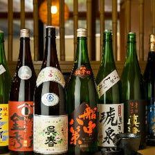 日本各地の「地酒」にこだわる