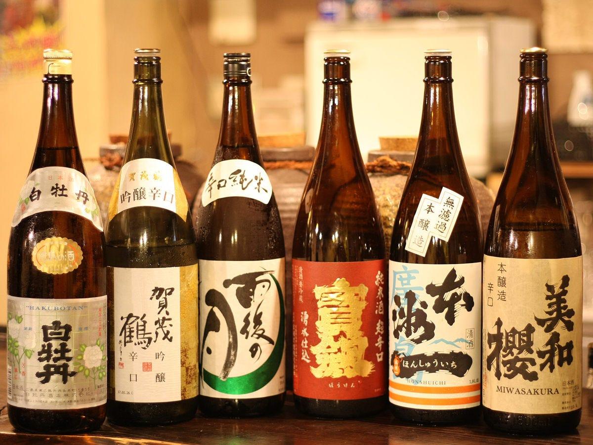地元広島の地酒を中心に・・・