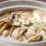 カキ味噌鍋(味噌バター風味)