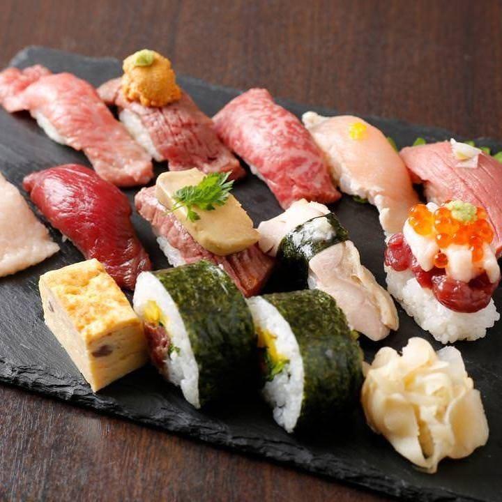 ☆肉寿司食べ放題☆驚きの価格で