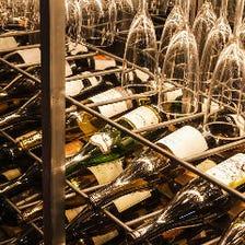 常時20種以上!日本の多彩なワイン