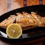 県産魚のバター焼き