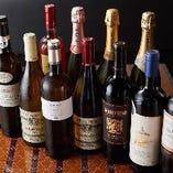 ワインも充実◎