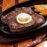 丸沖特製ステーキ