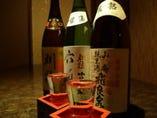 秋田の地酒を 多数取り揃えています。