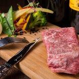 宮崎県産EMO牛 A4ランクのステーキ