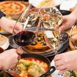 乾杯をワインでいかがですか?