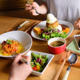 ランチも手を抜かず自信を持って、素敵な食事時間をご提供いたます!