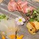 魚介とお肉のスモーク盛り合わせ 1,100円