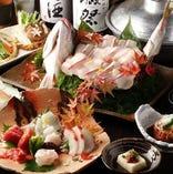季節のお魚をお楽しみください