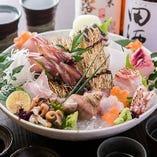 旬な天然魚や食材