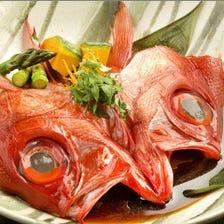 日替わりの煮魚、焼き魚