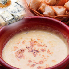 チーズのクリームフォンデュ