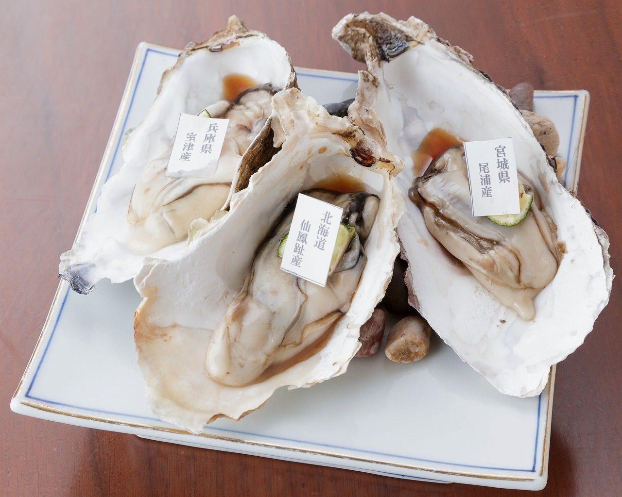 全国厳選牡蠣食べ比べ