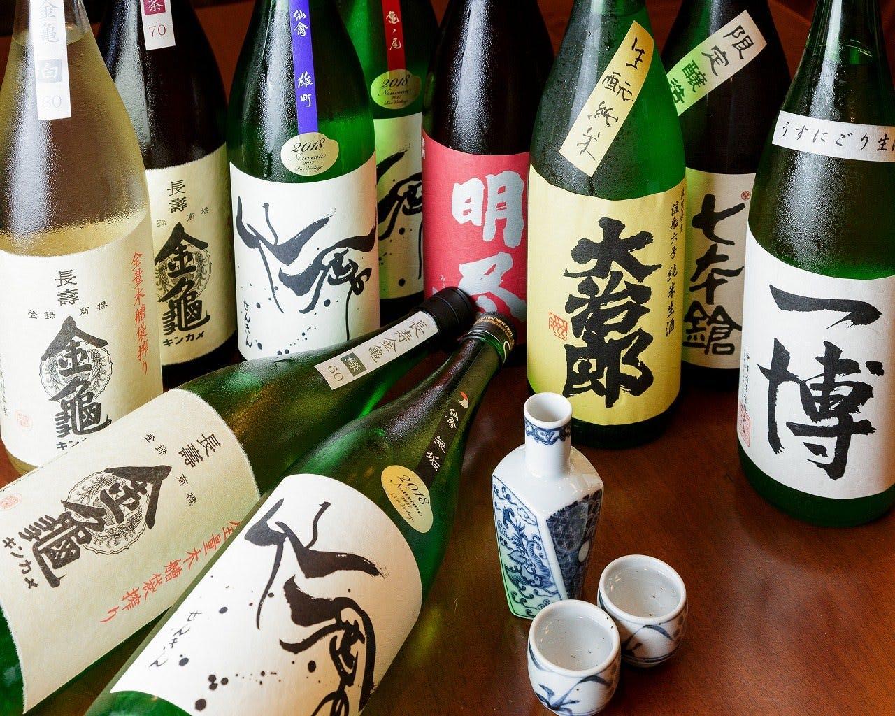 滋賀の地酒と全国の旨い日本酒