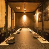 宴会最大20名様前後までOK!個室です。