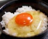 【土佐ジロー卵かけご飯】500円(税別)