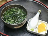 【青さのり出汁茶漬け】700円(税別)