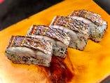 【鯛の炙り棒寿司】800円(税別)