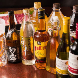 お得な飲み放題メニュー。豊富な種類を取り揃えております。