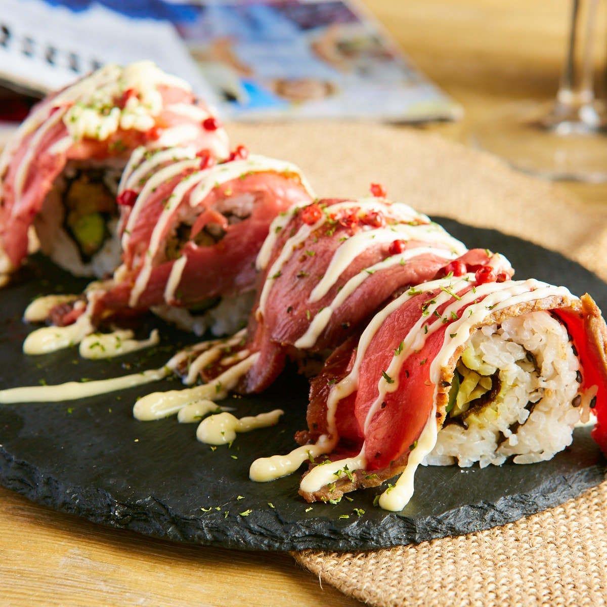 【全20種類】肉寿司食べ放題