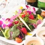 農家直送の季節野菜スティック