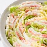 朝採れ白菜 & 国産豚の絶品ミルフィーユ鍋