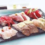 食べ放題で肉寿司をご堪能ください