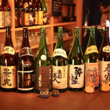 日本酒を常時30種類ご用意しております