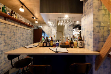 Oyster&Smoked BAR SANGO  店内の画像