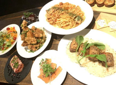 イタリア大衆食堂 堂島グラッチェ 福島店 コースの画像