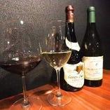 特別な日におすすめのシャンパンやワインも多数ご用意