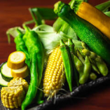 旬の野菜をバラエティ豊かに取り揃えております