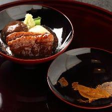 「山錦楼」の加賀料理