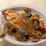 お魚の料理にも力を入れております!ワインにとても合います。