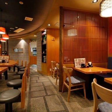 自然薯麦とろと田舎蕎麦 山薬清流庵 新橋汐留店 店内の画像