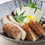 皮ごと食べられる自然薯ならではの味わい。是非ご賞味ください!