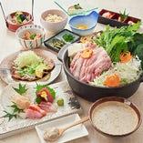 ご宴会コースは飲み放題付きで5000円~ご用意しております。