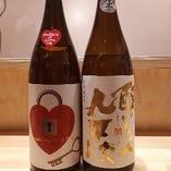 豊富な日本酒も焼鳥とともにお楽しみください!
