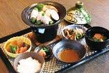 <予約制>「タニタ監修」陶板蒸し色菜御膳