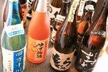 地酒・梅酒・焼酎なども豊富です