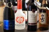 グラスワインは勿論!赤白各種ボトルワインもございます