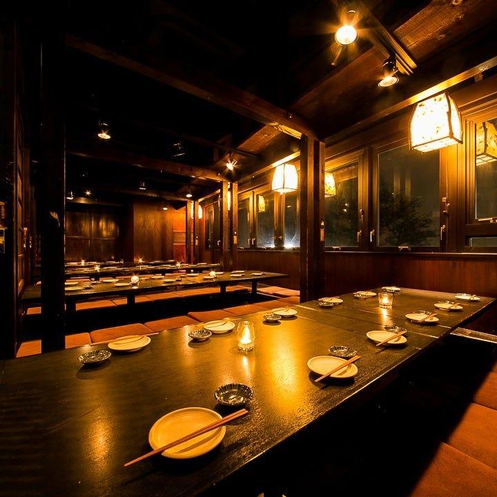 宴会用個室完備!最大40名収容可能!