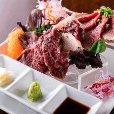 徹底した衛生環境と新鮮食材の肉刺し
