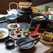 新鮮活魚を旬を愉しむコースお料理