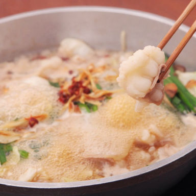 活イカともつ鍋 芋 中洲店 こだわりの画像