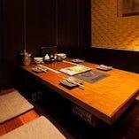 全席完全個室。少人数宴会も大歓迎。接待にも活躍します