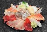 本日の海鮮丼