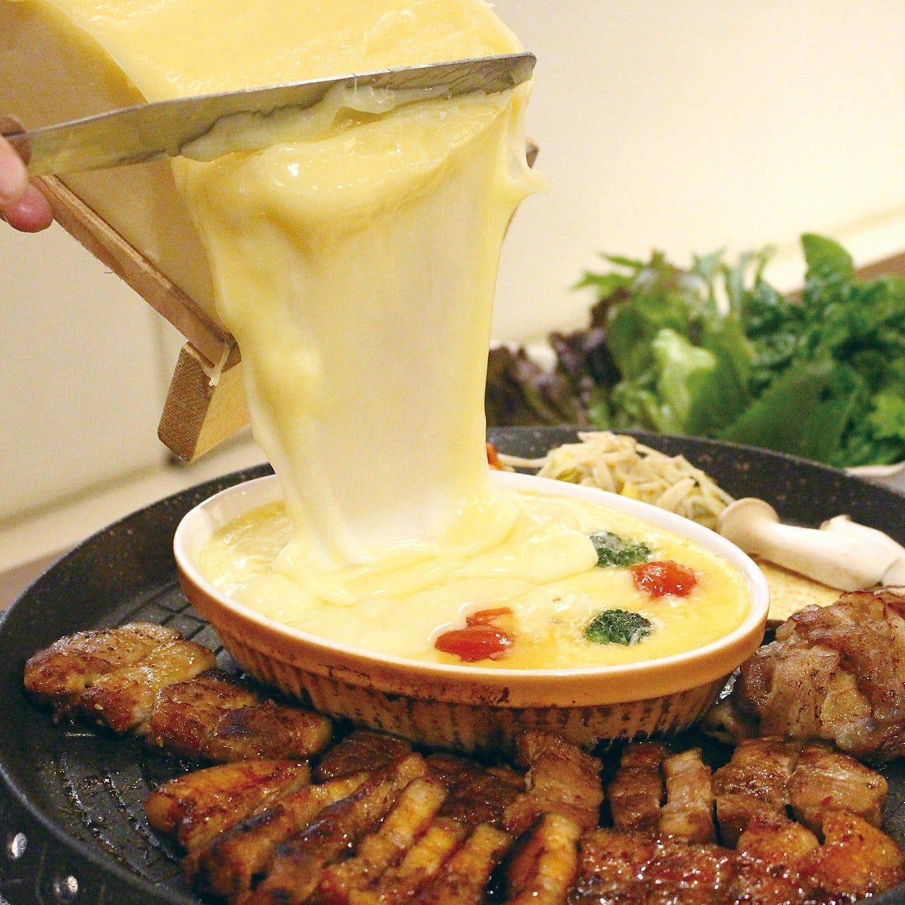 30品目野菜チーズサムギョプサル食放