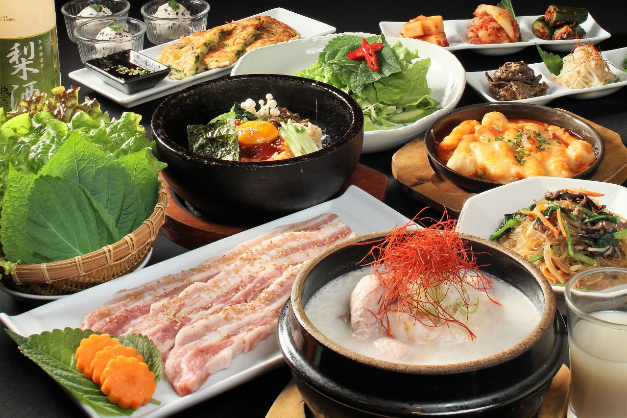 ☆当日OK☆【韓国料理王道メニューが勢揃い!迷ったらこのコース】『王道コース』